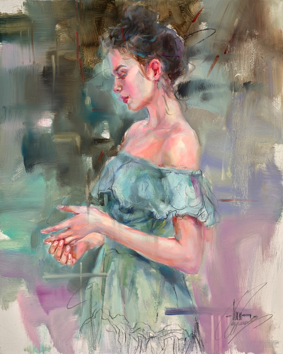 One More Chance by anna razumovskaya -  sized 24x30 inches. Available from Whitewall Galleries